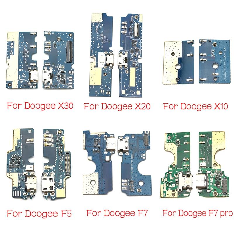USB Charging Port Dock Charger Plug Connector Board Flex Cable For Doogee DG280 F5 S60 X10 X20 X30 X60L Y8 F7 Pro Mix 2 Parts