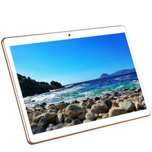 DHL Free 10 inch 4G LTE Tablets Deca Core Android 7.0 RAM 4GB ROM 64GB Dual SIM Cards 1920*1200 IPS HD 10.1 inch Tablet PCs+Gifs