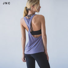 2016 Fitness Apparel Women's Workout Tank Tops Perfect Yoga top For Female Quick Dry Sports Running Tee