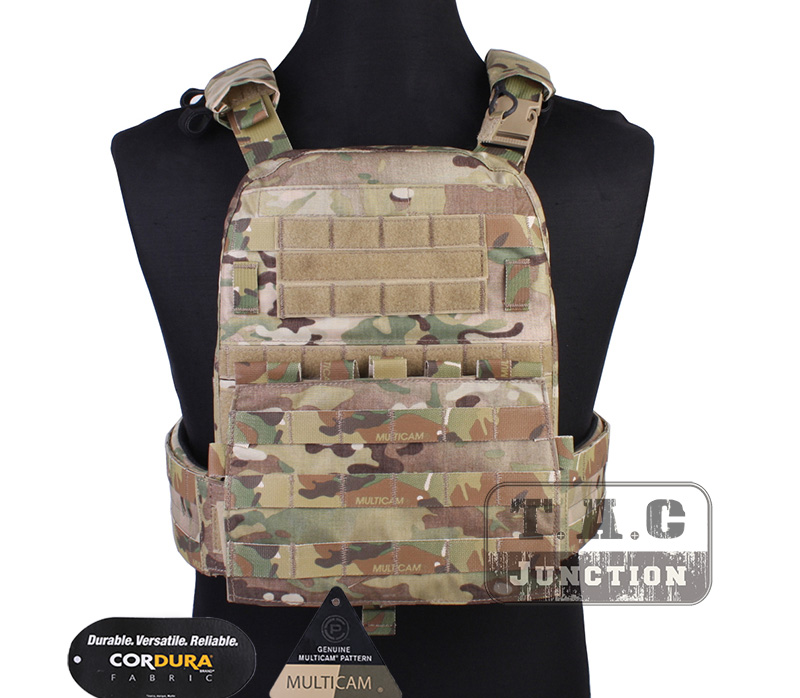 Emerson Tactical AVS Vest Heavy Duty Plate Carrier Emersongear CP Style Adaptive Airsoft Vest