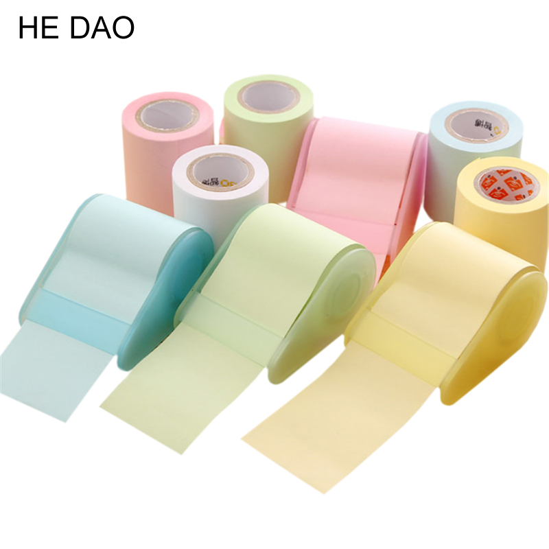 1 X Fluorescent Paper Sticker Memo Pad Sticky Notes Post It Kawaii Stationery Material Escolar School Supplies