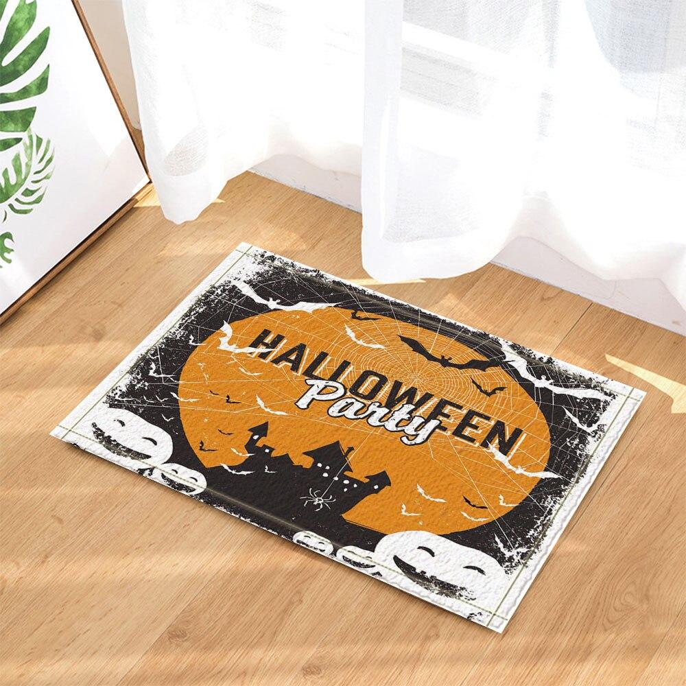 aliexpresscom buy bath mats halloween party printed carpet bathroom absorbent mat toilet rugs kitchen floor home decoration door rug 40x60cm from