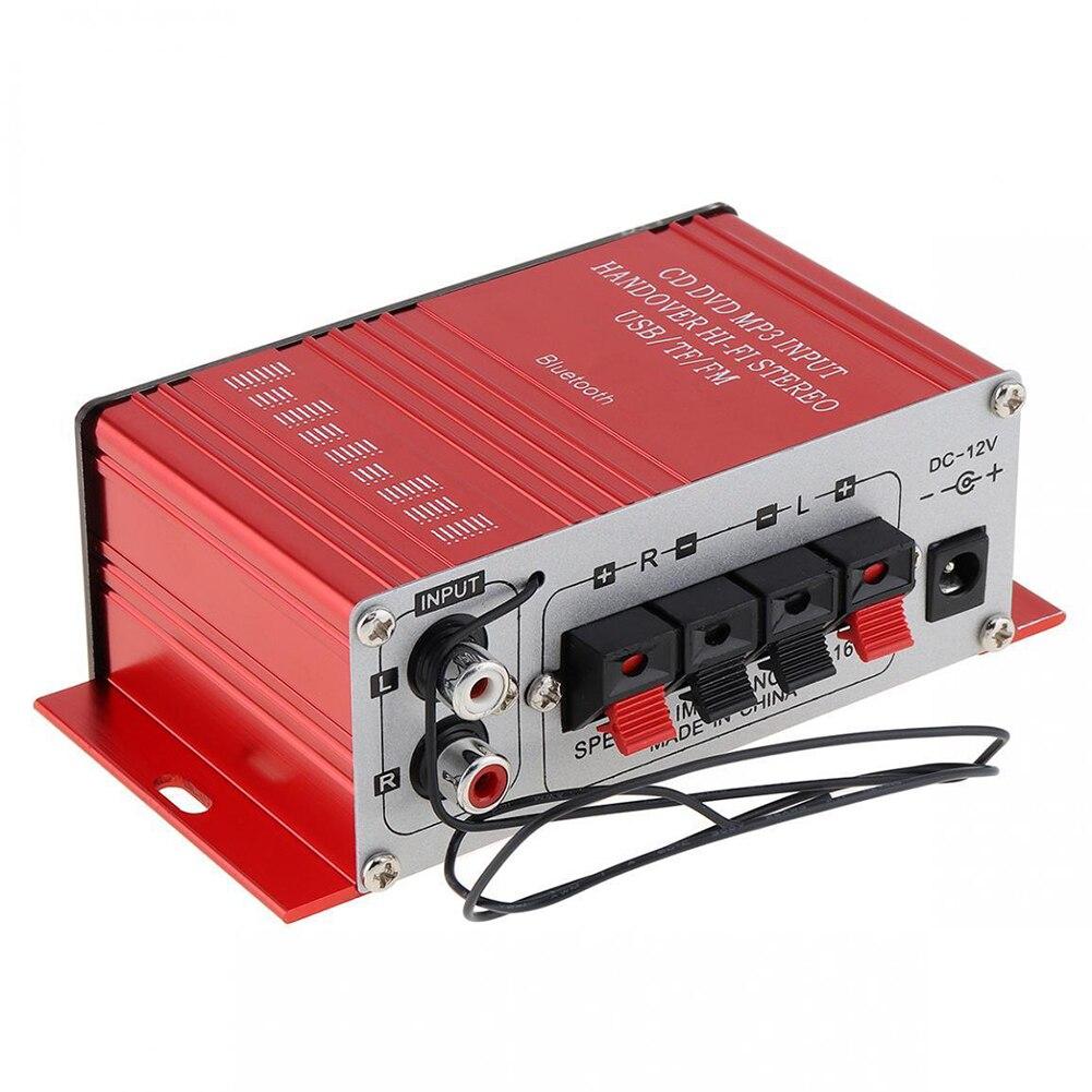 Mini 200W 12V G8 Car Amplificador HIFI Audio Power Amplifier bluetooth Stereo car Amplifiers FM Radio USB Remote Control Hot