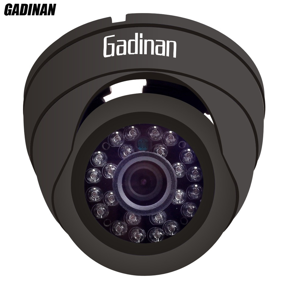 GADINAN Security CCTV Dome 2.0M 1/2.9 IMX323 24 Leds1080P 2.0mp HD 1080P h.264 IP Camera ONVIF 25fps Indoor Black/White Plastic