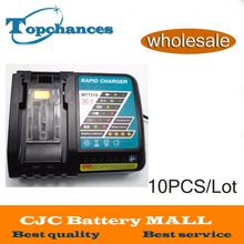 10PCS 14.4V-18V 6.5AH Power Tool Battery Charger For Makita BL1415,194066-1, BL1430,194205-3,194309-1, BL1815, BL1830,LXT400