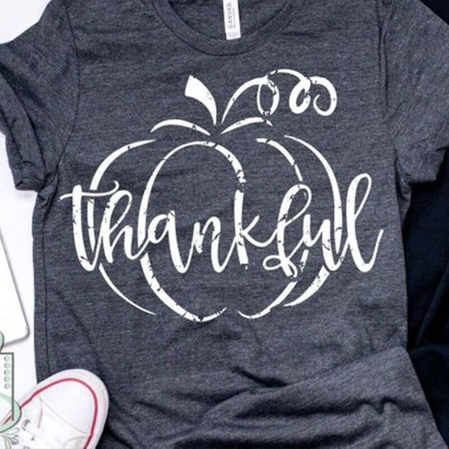 thankful shirt grateful tshirt mama t-shirts womens gothic tee female plus size tops mom shirts vintage top