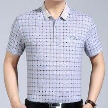 d9afab8dea 2018 nova mens roupas de manga curta camisa pólo verão pol homens poloshirt  xadrez marcas polos camisetas vestido streetwear mas.