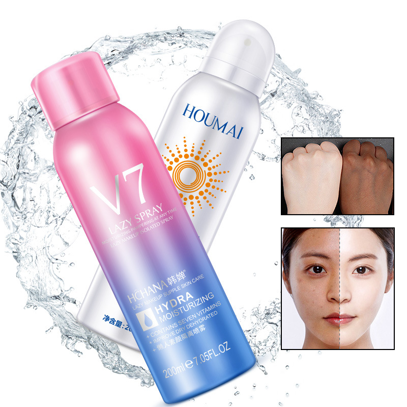 Healthy Skin Care: 2018 HOREC Lazy Person Face Mask Spray Summer Hydrating
