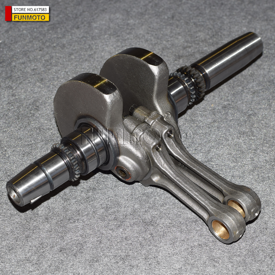 Crankshaft assy suit for HISUN 800ATV/HS <font><b>800</b></font> <font><b>UTV</b></font> / HS2V91MW/13200-F68-0000 image