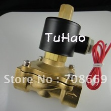 """Электрический электромагнитный клапан воды воздуха N/O 110 V AC """" нормально разомкнутый Тип"""