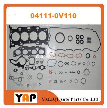 Revizyon Conta Motor Kitleri IÇIN TOYOTALEXUS Camry ES200 XV50 XV60 XV70 6AR 6 ARFSE 6 ARFBS 2.0L 16 V L4 04111 0V110 041110V110 2016 title=