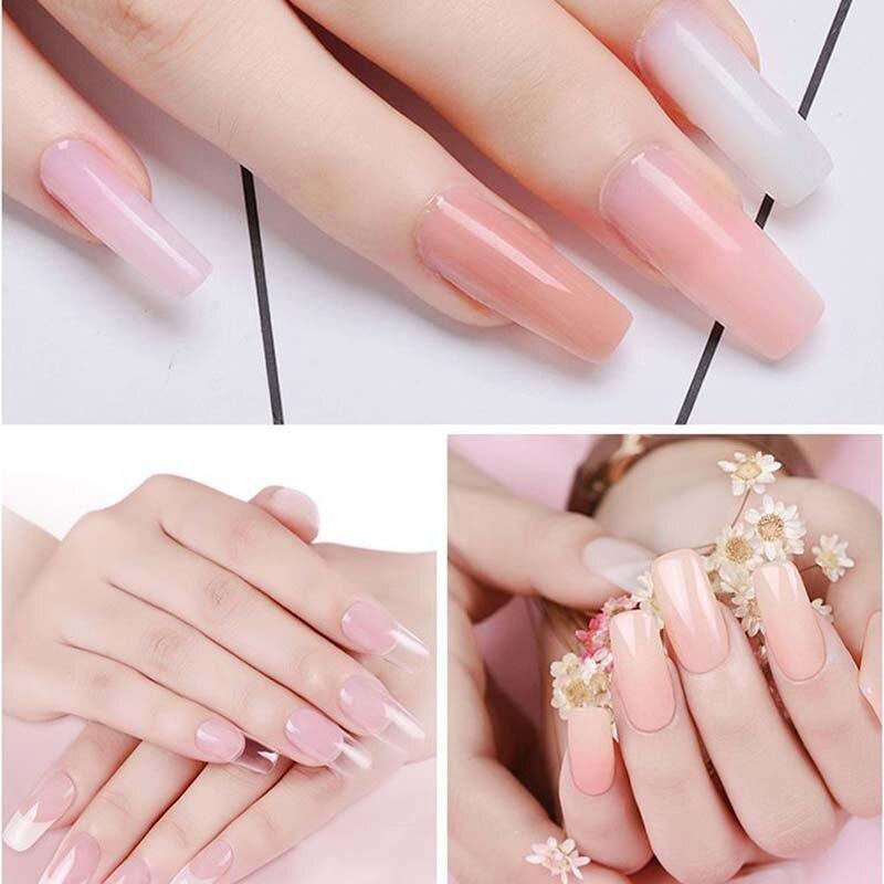 30 ml Poly Gel Finger Verlängerung Kristall Gelee Polygel Nagel Gel ...