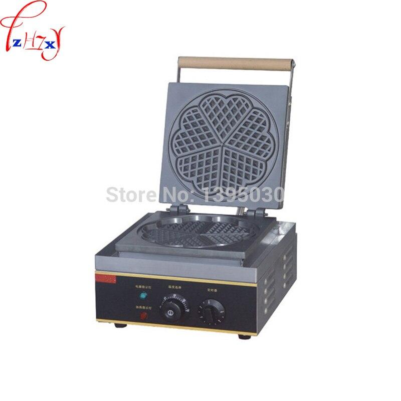 FY 215 Elektrische Waffeleisen Baker Herz Form Mould Plaid Kuchen Ofen Sconced Maschine 220 V/110 V