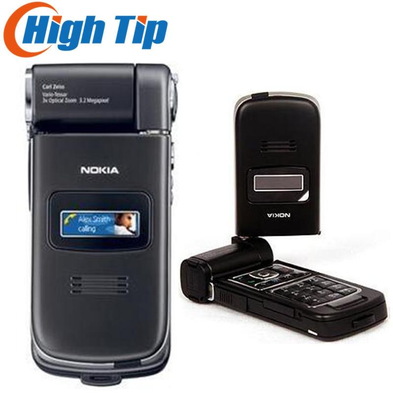 Original Refurbished Nokia N93 Wi-fi 3.15MP Bluetooth 3G Unlocked Mobile Phone Free Shipping