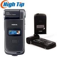 Original reacondicionado Nokia N93 wi-fi 3.15MP Bluetooth 3G abrió el teléfono móvil del envío gratis