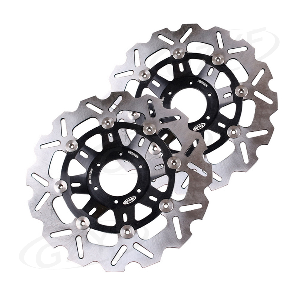 For Honda CBR 250RR MC22 NSR250R MC18 MC21 MC28 Front Brake Disc Rotors Disks Motorbike Parts