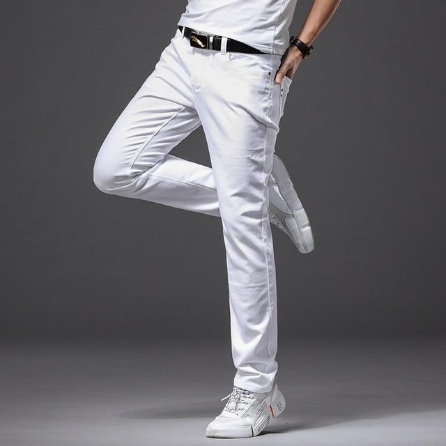 Men White Jeans 4