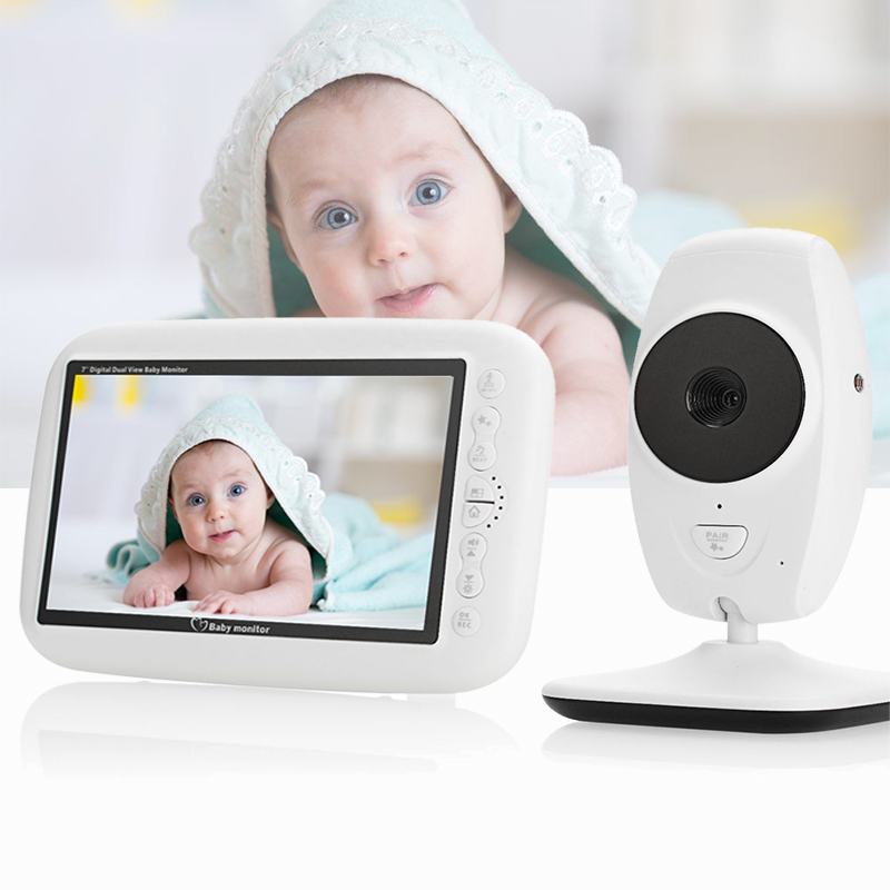 7 0 Inch Baby Monitor Wireless Video Color Baby Nanny Security Camera 2 Way AudioTalk Night