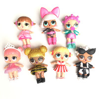 2017 Hot Surprise Doll Unpacking Dolls Dress Up Toys Surprise Eggs Funny Toys For Girl Best