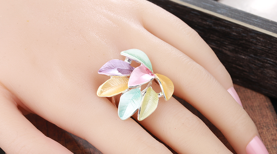 2019 New jewellery Trendy Enamel Rings For Women