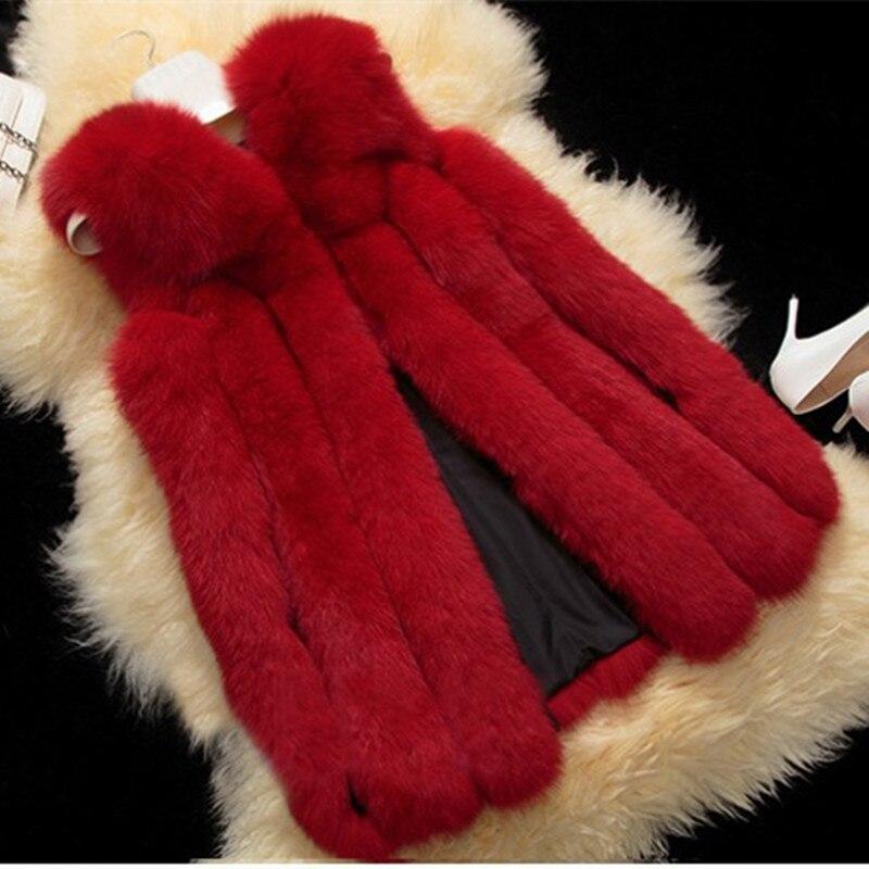 2016 Fashion Genuine Real Whole hide Fox Fur Vest Waistcoat Winter Women Fur Gilet Outerwear Coats