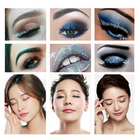 Professional 10 Colors Eye Shadow Palettes Shimmer Glitter Powder Palette Matte Eyeshadow Cosmetic Makeup Palette Eye Eye