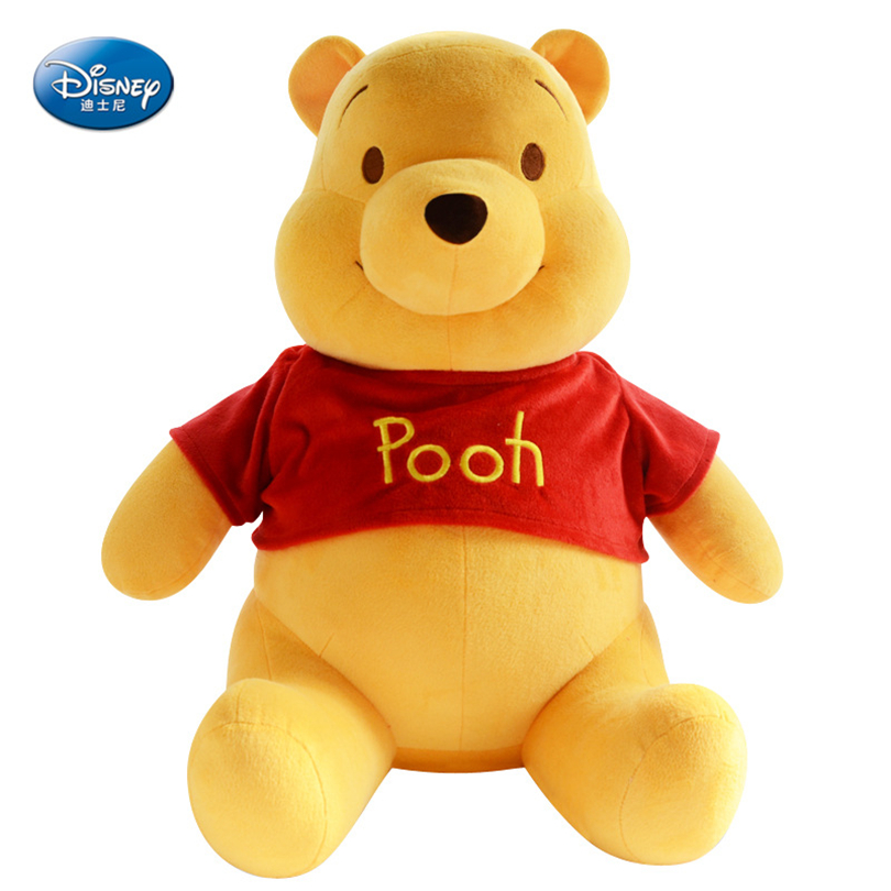 Disney Winnie The Pooh Bear Plush Toy Doll Cartoon Character Bear Plush Doll Toy Child Boy And Girl Anime Plush Birthday Gift