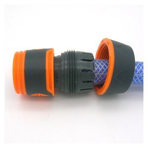 """Image 4 - Durable Water Sprinkle 3/4"""" Water Hose Connector Pipe Adaptor Water Tap Hose Pipe Fitting Set connector with Rubber Material"""