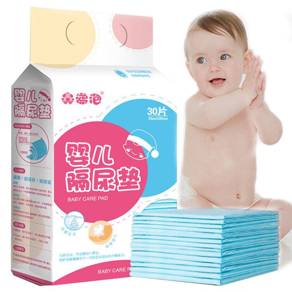 30 pièces bébé bébés imperméable respirant jetable sous-couche couche soin pour adulte enfant ou animaux de compagnie absorbant livraison directe