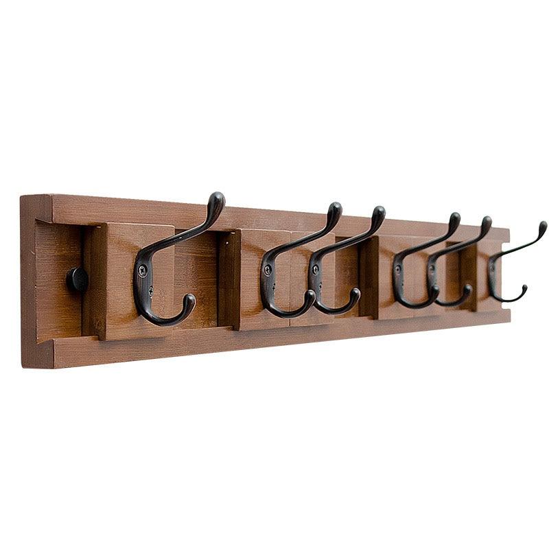 Hooks Door Nordic Wood Corner Coat Rack