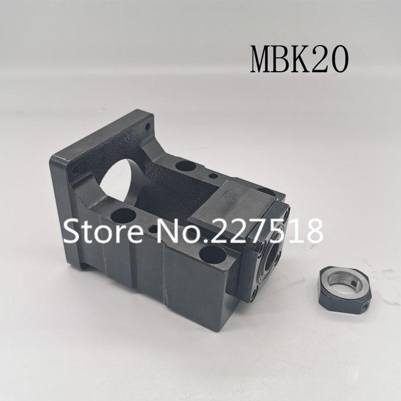 Motor Bracket MBK20/25/30/35 Series Steel Motor Base Electroplating Fixed Mounting Base Machine Seat Support Bracket