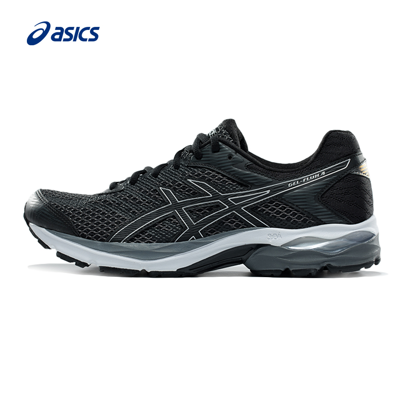 Original ASICS New Arrival GEL-FLUX 4 Men Light Weight Cushioning Running Shoes Stability Sports Shoes Sneakers Outdoor Athletic