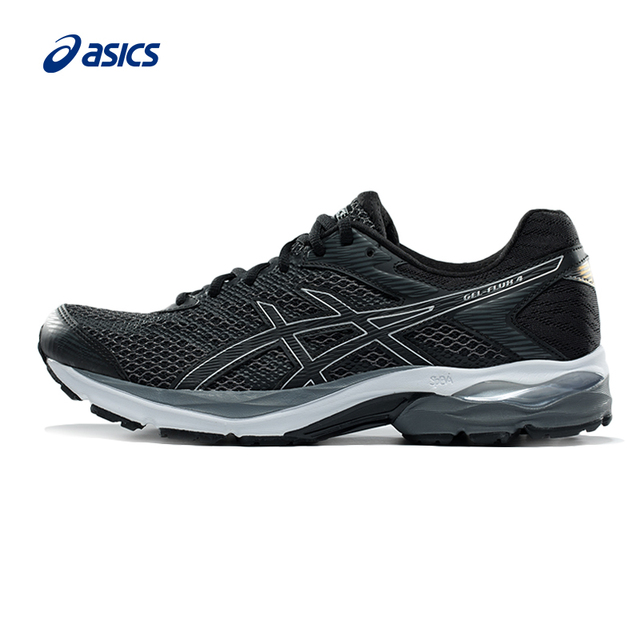 f600962e967df Original ASICS New Arrival GEL-FLUX 4 Men Light Weight Cushioning Running  Shoes Stability Sports Shoes Sneakers Outdoor Athletic