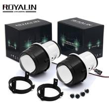 ROYALIN би-ксенон, противотуманная свет объектив проектора для Mazda 3 6 CX5 Axela Atenza 2,5 »металлический H11 HID лампы автомобилей Стайлинг 4300 K 5000 K
