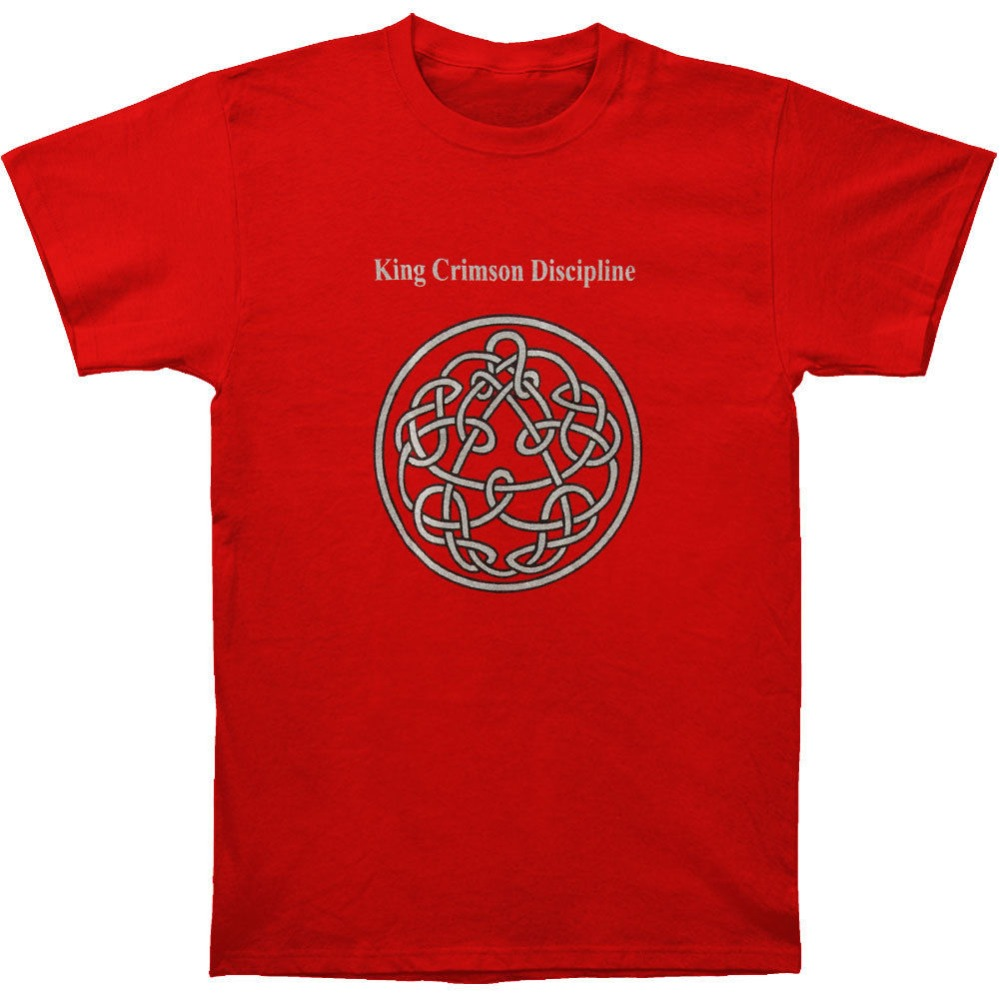 King Crimson Men'S Discipline   T     Shirt   Red