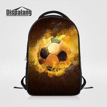 Dispalang мужские дорожные сумки 3D печати Мячи ноутбук рюкзак для подростков мальчиков больше школьные сумки для студентов Mochilas