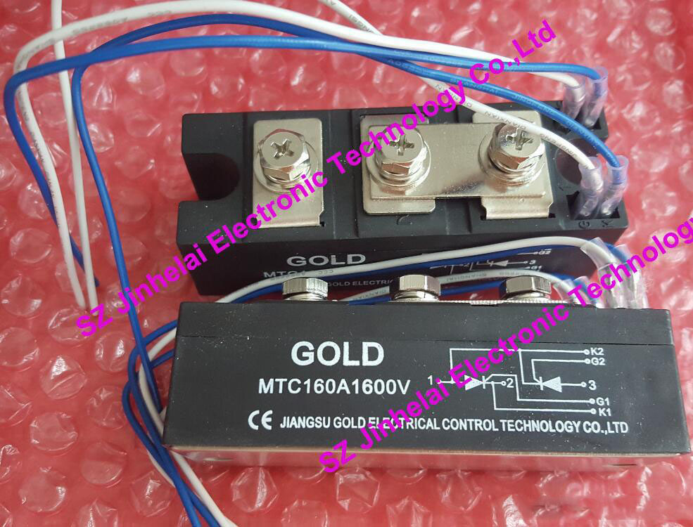New and original GOLD  MTC160A (MTC160A1600V)  Thyristor module