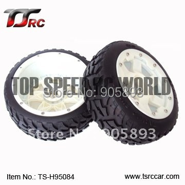 5B Front Highway-road Wheel Set With Nylon Super Star Wheel(TS-H95084)x 2pcs for 1/5 Baja 5B, wholesale and retail 5b rear highway road wheel set with nylon super star wheel ts h95085 x 2pcs for 1 5 baja 5b wholesale and retail