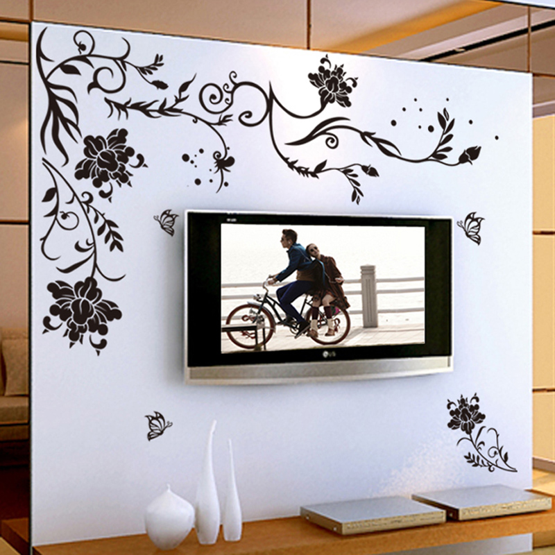 Adhesive Wall Art compare prices on decals art wall- online shopping/buy low price