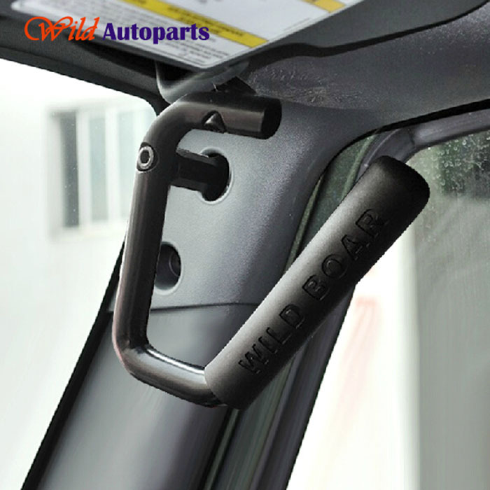 Black Metal Wild Boar GraBars Roof Hard Mount Grab Handles For Jeep Wrangler  2007 2014 2015 In Exterior Door Handles From Automobiles U0026 Motorcycles On  ...