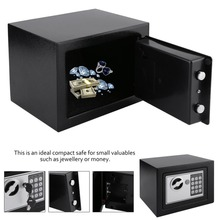 Solid Steel Electronic Safe Box With Digital Keypad Lock 4.6