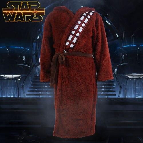 Star Wars Bath Robe Bathrobe Cloak Mantle Cape Hoodie chewbacca Cosplay Costume