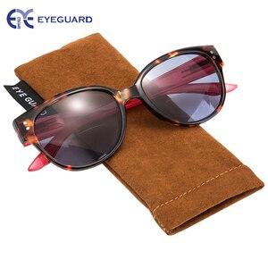 Image 5 - EYEGUARD Frauen Bifokale Sonnenbrille Sonne leser UV 400 Schutz Outdoor Lesen und Abstand Betrachtung Mode Dame Leser Design