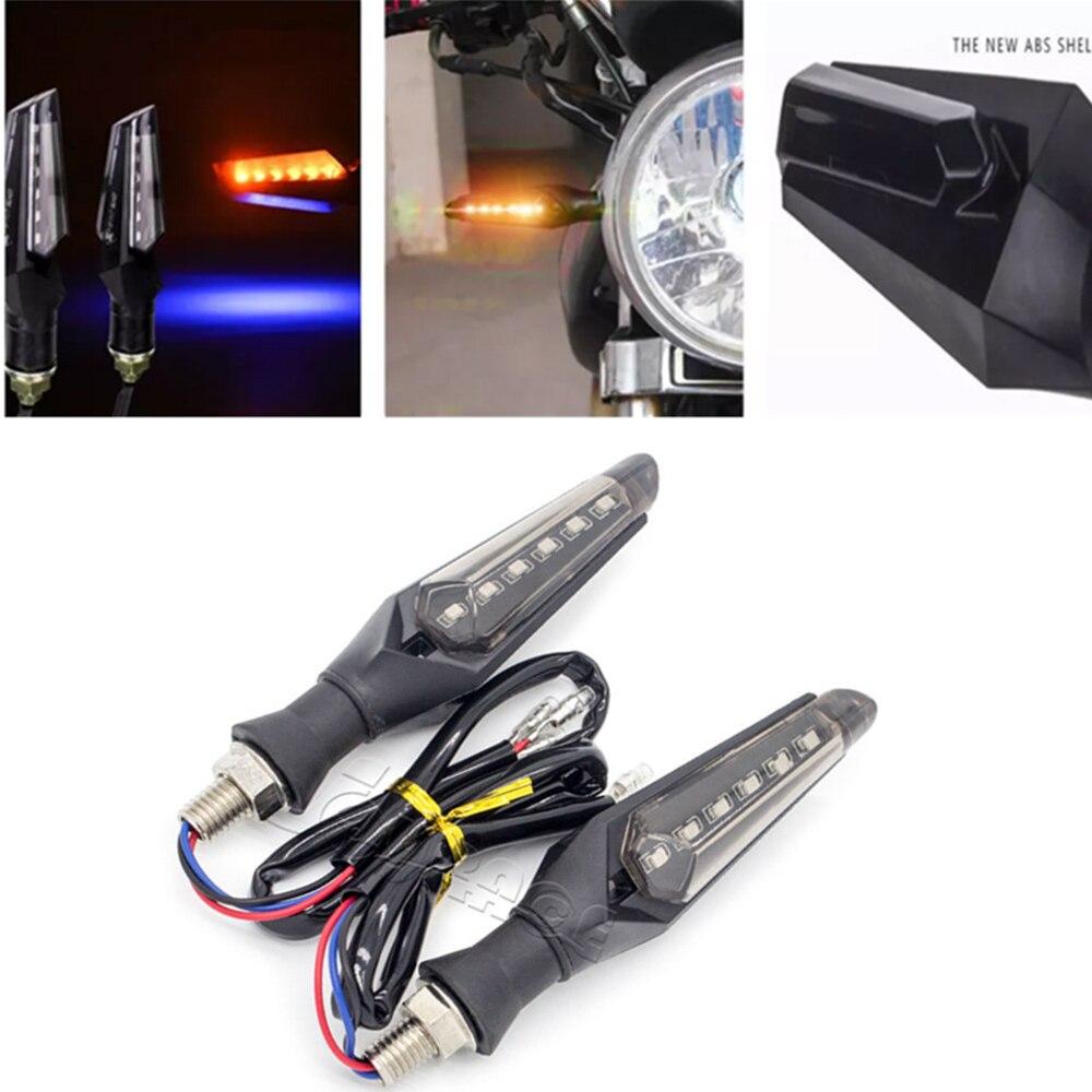 Vehemo Turn Signal Signal Lamp Indicator Motorcycle 2PCS Premium LED Light Motorbike Bulb Side Light Super Bright