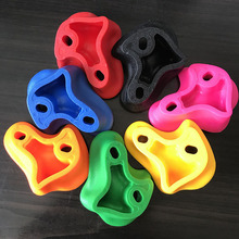 7pcs/set Rock Climbing Holds 12 cm Rock Climbing Stones Wall Kit Holder Holds Kids Indoor Durable Toys Random Without Screws thinkeasy 32 pcs plastic children indoor rock climbing stones screw toy wall kit kids toys sports hold outdoor game playground