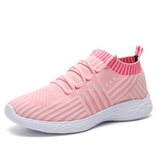 Designer Shoes Women Luxury 2019 New Flats Casual Fashion Sneakers Socks Lace-up Breathable Espadrilles