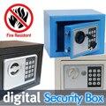Cofre Digital é Broca de Fogo Resistente Ideal para Casa e uso de Escritório! Jóias Caixa De Segurança de segurança manter o Dinheiro ou Documentos de Forma Segura