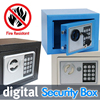 Digital Safe Box Is Fire Drill Resistant Ideal For Home Office Use Safety Security Box