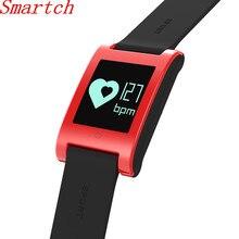 Smartch DM68 Смарт Браслет фитнес трекер крови Давление монитор сердечного ритма Bluetooth Сенсорный экран smartband для