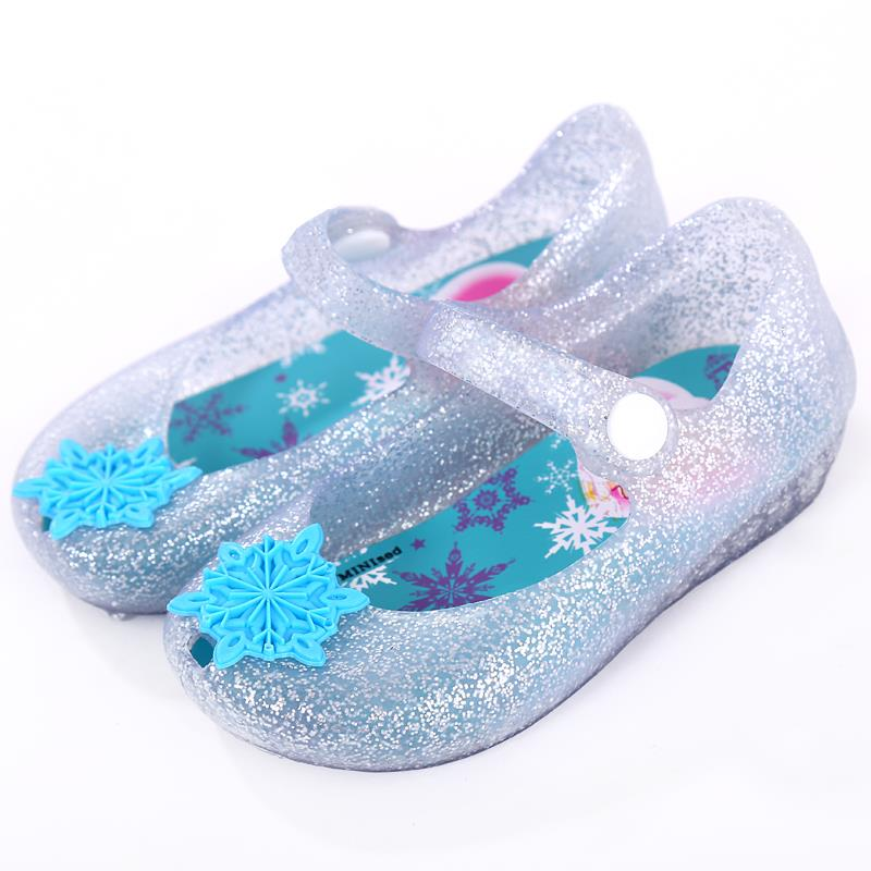 f14d9b232ccd mini melissa Shoes rain shoes Christmas Gift Ice Snow Shoes Ultragirl sweet  girls shoes buckle slipper congelado congeladas-in Sandals from Mother    Kids on ...